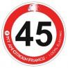 Autocollant 45